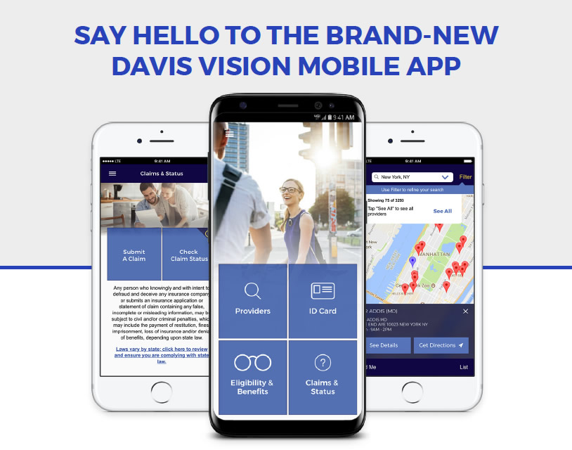 Say Hello to the Brand-new Davis Vision Mobile App | TeamstersCare 25