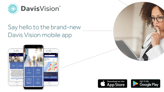 Download the Brand-new Davis Vision Mobile App | TeamstersCare 25